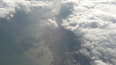 韓国上空1128