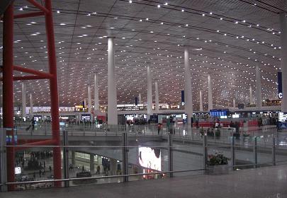 北京首都国際空港1128