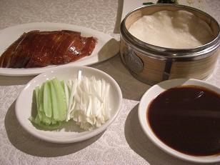 北京ダック料理b