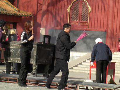 雍和宮・祈り1201