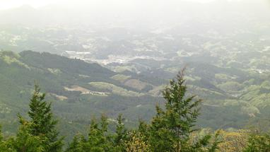 高城山810mより