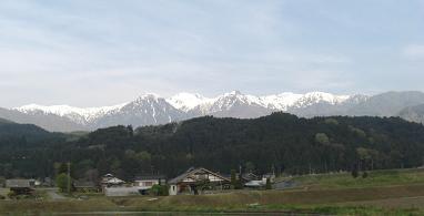 木曽駒ヶ岳方面