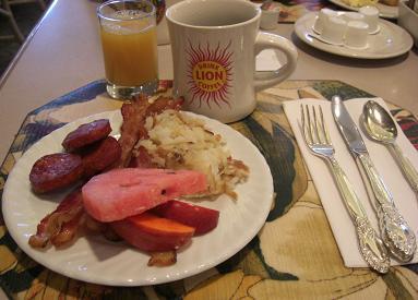 アラモアナ・ホテル 朝食