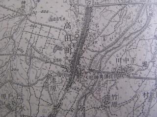 100年前の高田町