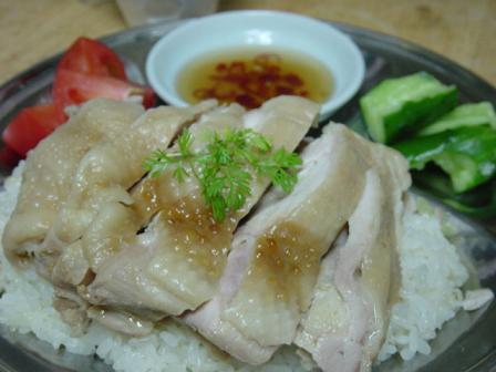 レシピおさらい海南チキンライス