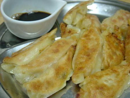 キムチ豆腐餃子
