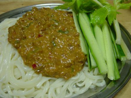 納豆ジャジャ麺