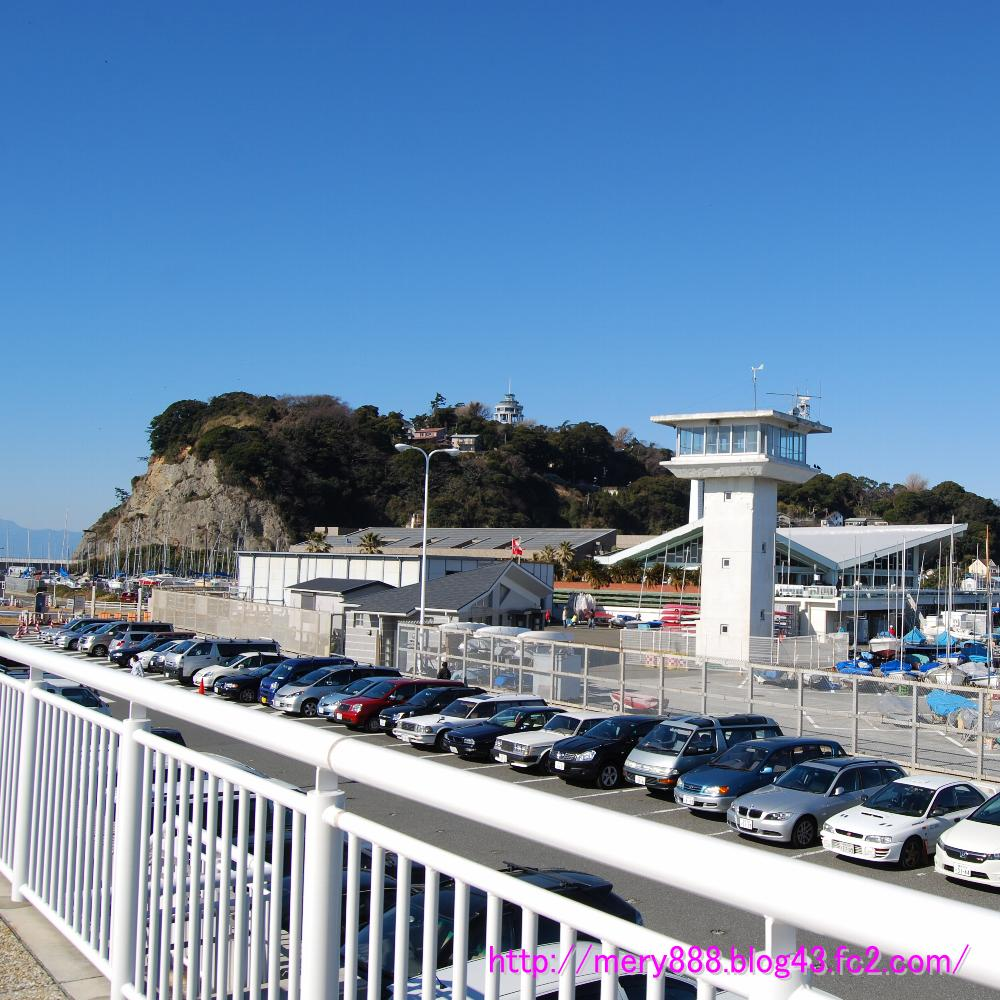 片瀬江ノ島は晴天です001