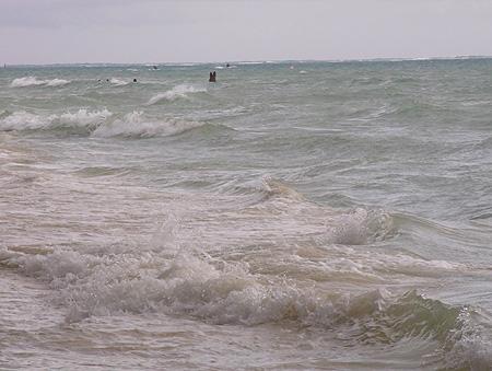 2009年8月2日今日のマイクロビーチ
