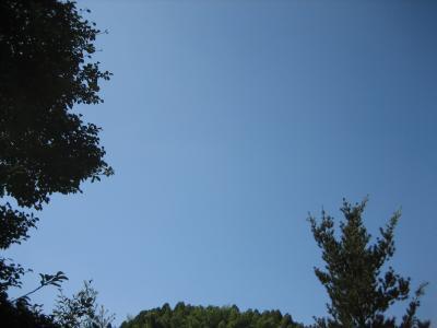 雲のない青空縮小ph