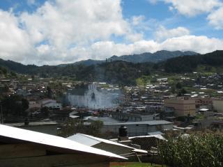 サンフアン村 遠景