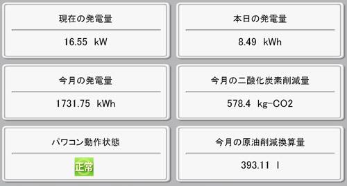 モニター画面!2011.09.10