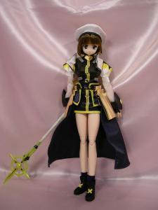 AZON製ハイブリットアクティブフィギュア№035 魔法少女リリカルなのはStrikerS 八神はやて
