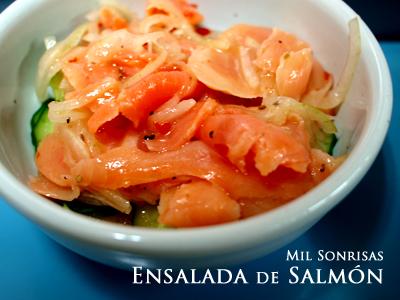 ensalada de salmon