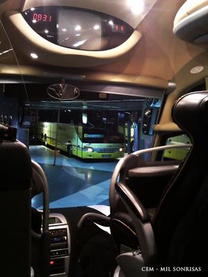 Autobus para Oporto