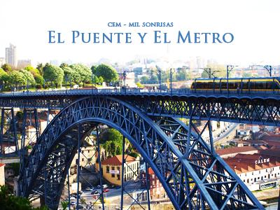橋とメトロ