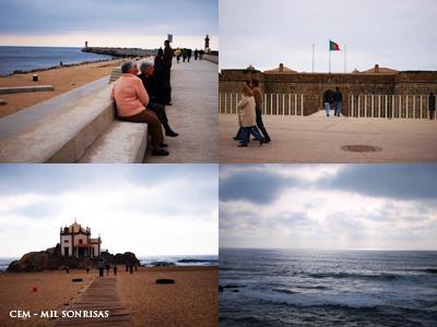 海岸の散歩