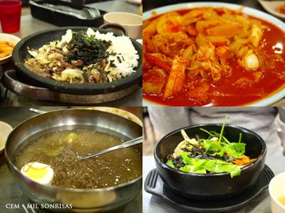 Comida Koreana!