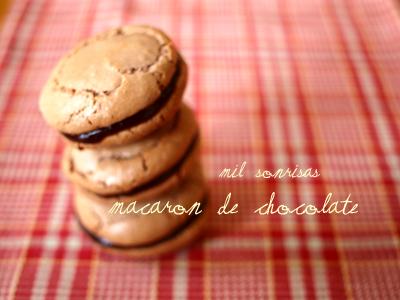Macaron de Chocolate♪