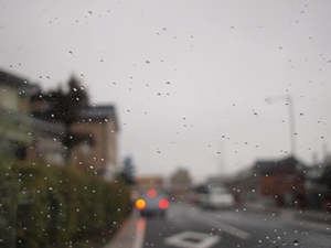 Llueve mucho...
