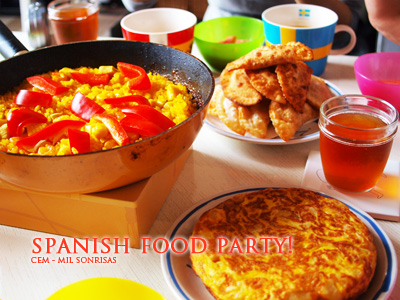 Spanish food party!
