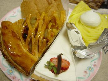 T.yokogawaのケーキ