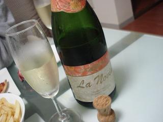 スパークリングワイン~