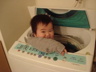 洗濯しちゃうぞ~