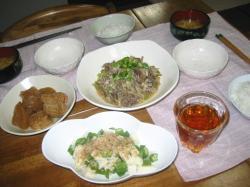 牛肉とごぼうの柳川煮