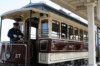 チンチン電車。
