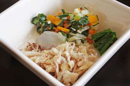 手羽先と野菜