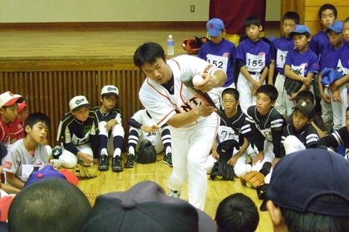 さわかや野球教室4