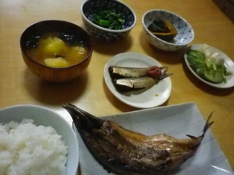 朝食風景20111009