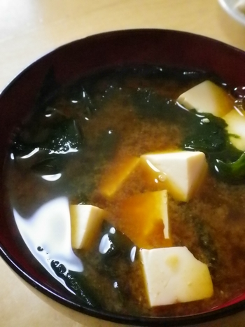 豆腐とわかめ7