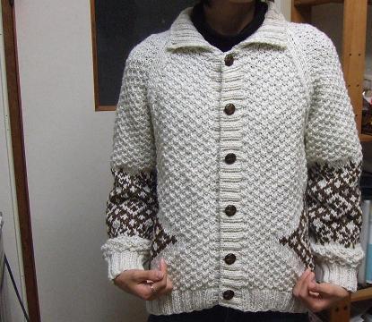 4セーター完成