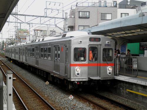 東急7701(池上線御嶽山)