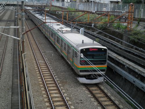 E231系湘南新宿ライン(池上線御嶽山)