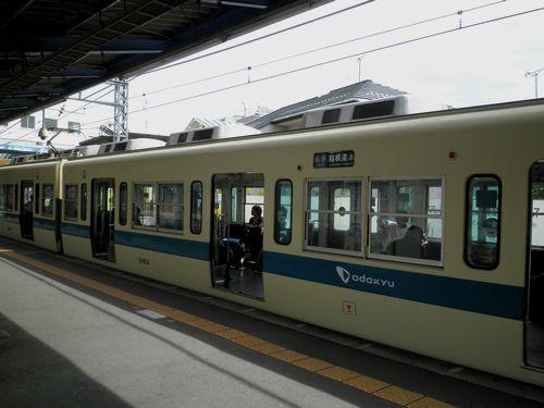 小田急クハ5163(新松田駅)・2