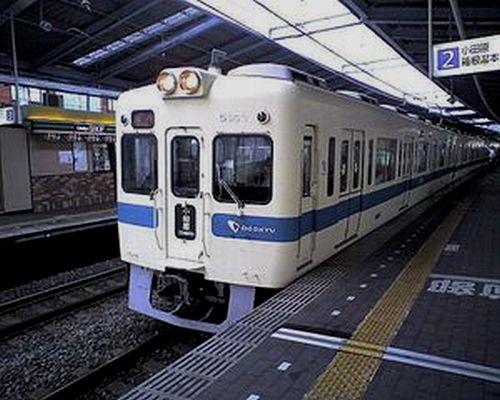 小田急5200形(2010年8月8日・本厚木駅)