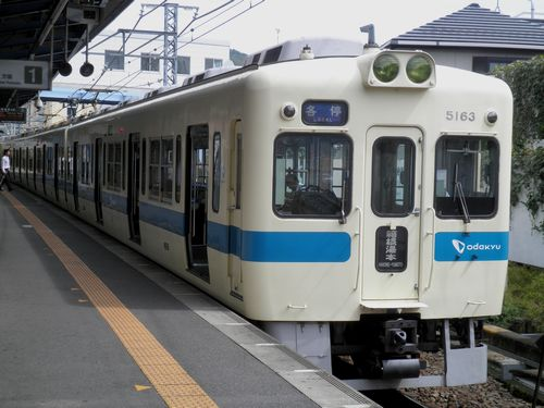 小田急クハ5163(新松田駅)・1
