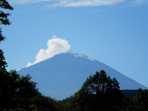 富士山(静岡県小山町・2011年9月27日)