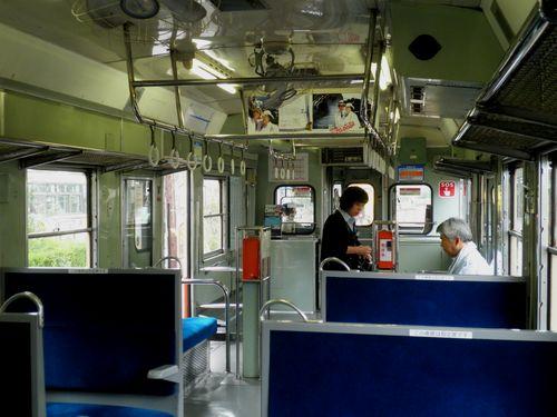 いすみ鉄道キハ52 125車内