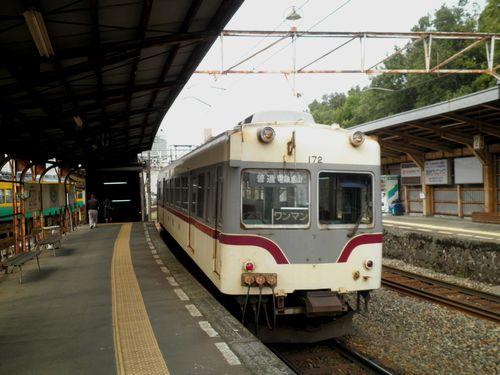 富山地方鉄道クハ172(稲荷町駅)