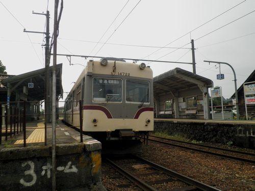 富山地方鉄道14720形(寺田駅)
