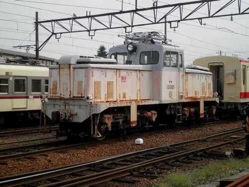 富山地方鉄道デキ12020形