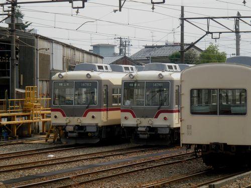 富山地方鉄道稲荷町車庫