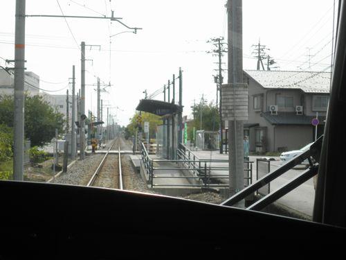 富山ライトレール・下奥井駅
