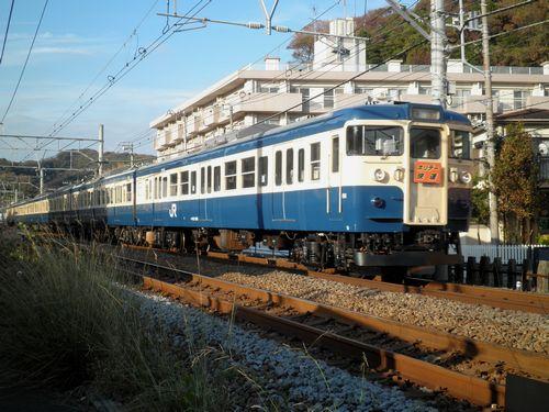 2011年秋季「ホリデー快速鎌倉」・逗子1
