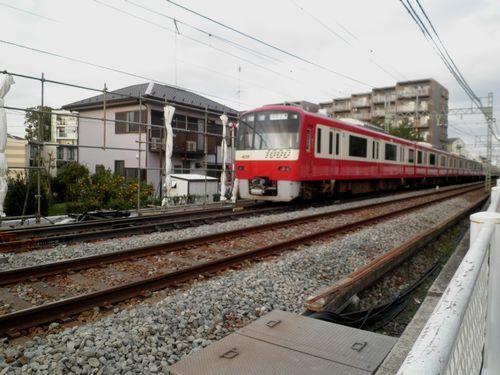 京急六浦駅・狭軌専用分岐器1