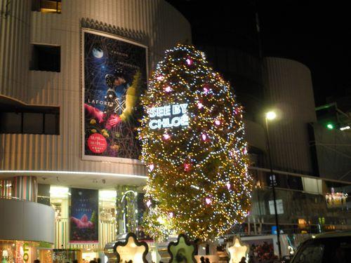表参道イルミネーション2011-3